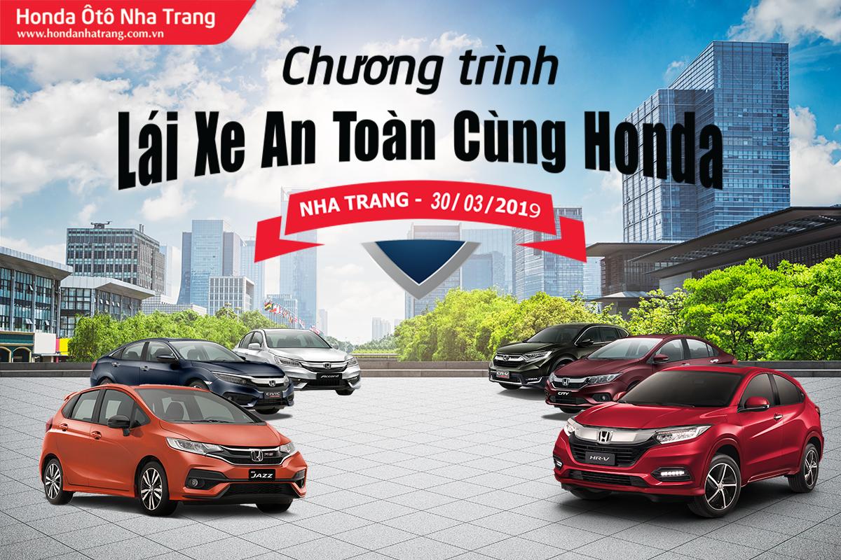 Lái xe an toàn cùng Honda Ôtô Nha Trang