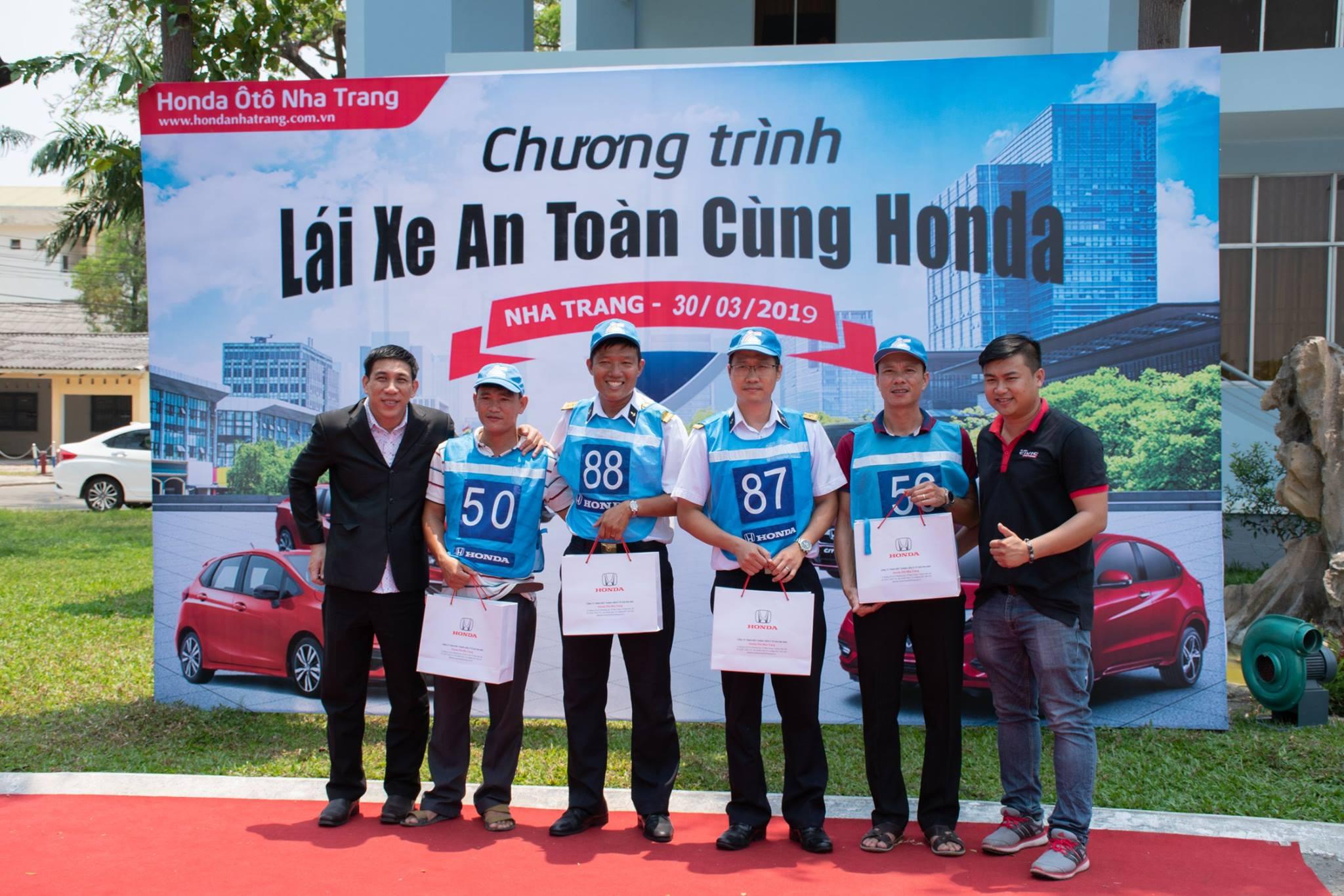 Khóa học Lái xe an toàn 2019 cùng Honda Ôtô Nha Trang.