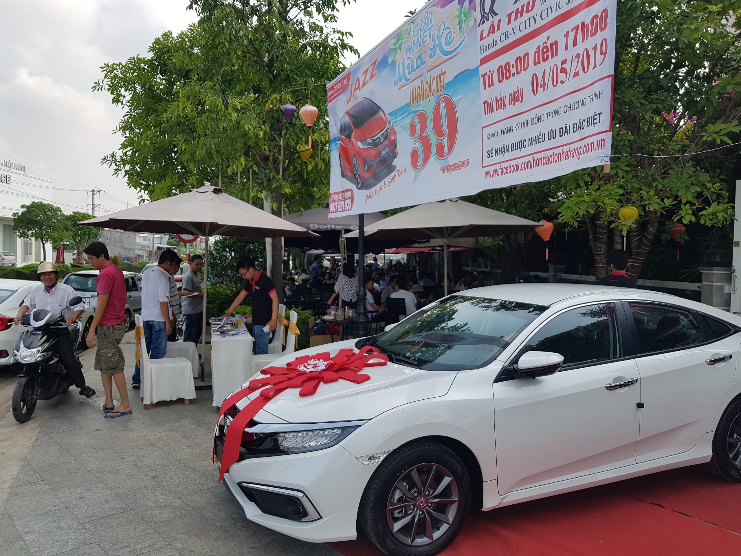 Lái thử và trải nghiệm Honda Ô tô tại thị xã Ninh Hòa, Khánh Hòa
