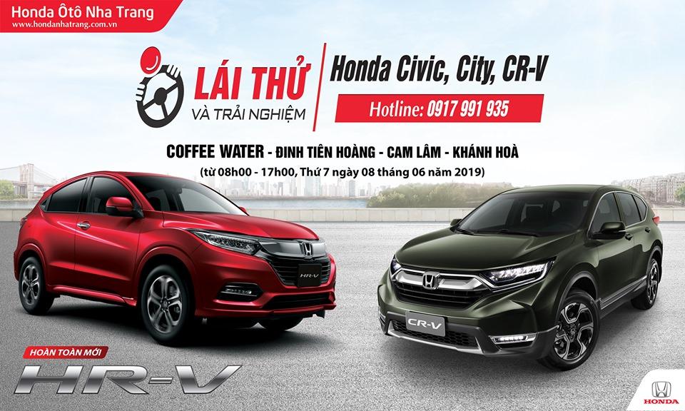 Lái thử Honda Ô tô tại Cam Lâm, Khánh Hòa – Civic 2019