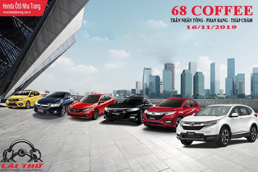 Lái thử Honda Ô tô tại Phan Rang, Ninh Thuận – Accord 2019, Brio 2019