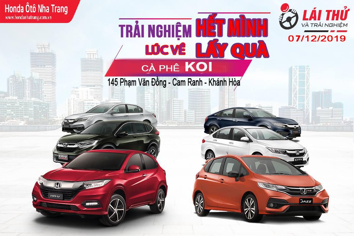 CùngHonda Ôtô Nha Tranglái thử Honda Accord tại Cam Ranh, Khánh Hòa