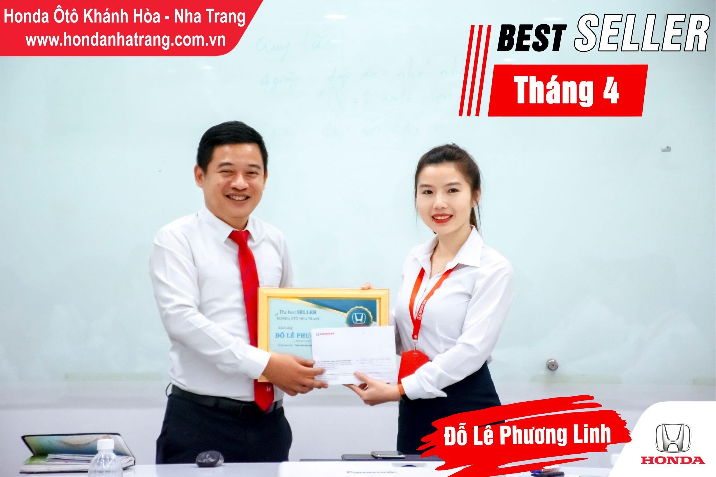 Xin chúc mừng chị Đỗ Lê Phương Linh, anh Đinh Bảo Duy đã xuất sắc đạt được giải thưởng Best Seller Tháng 04