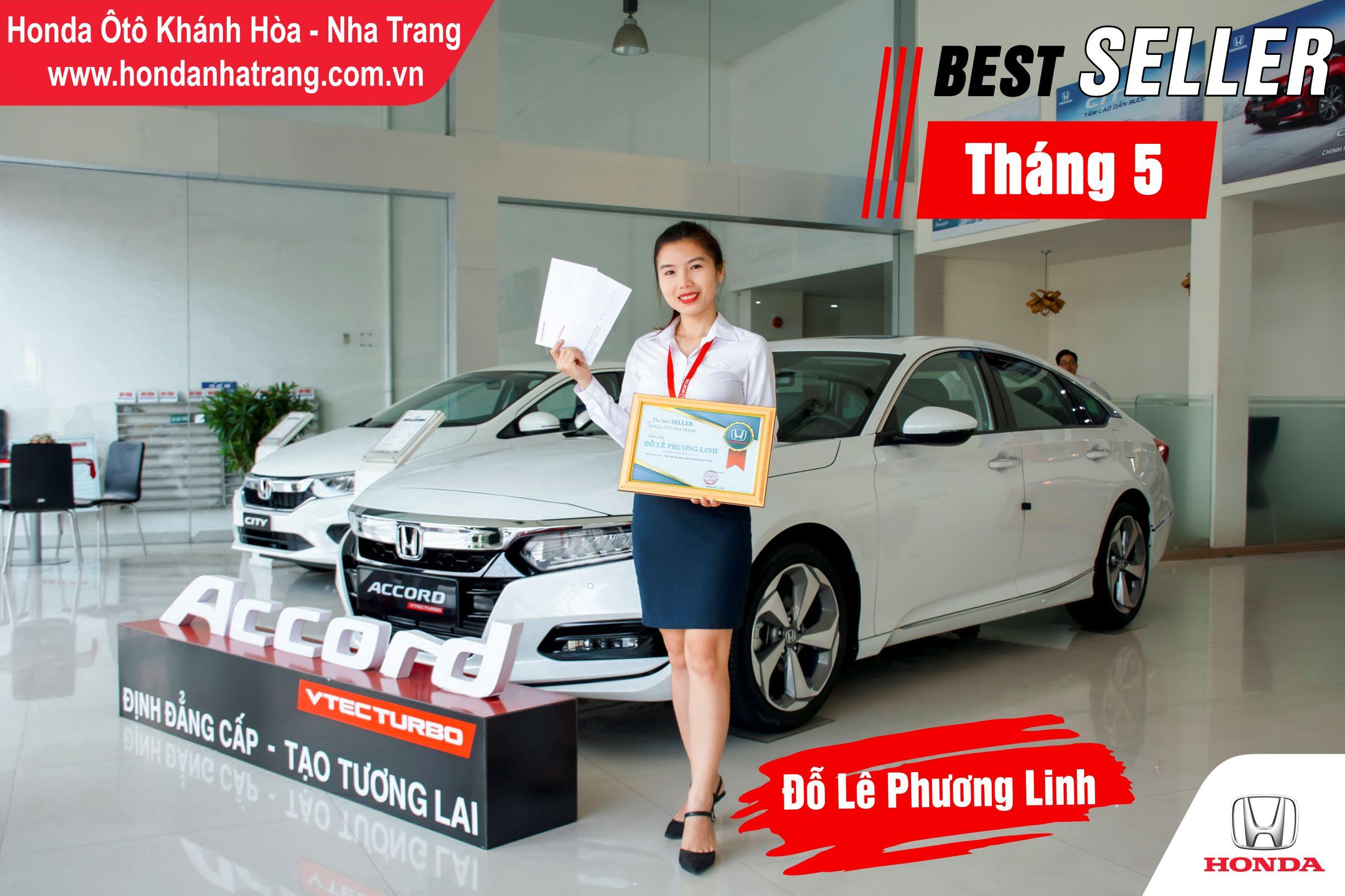 Xin chúc mừng chị Đỗ Lê Phương Linh đã xuất sắc đạt được giải thưởng Best Seller Tháng 05