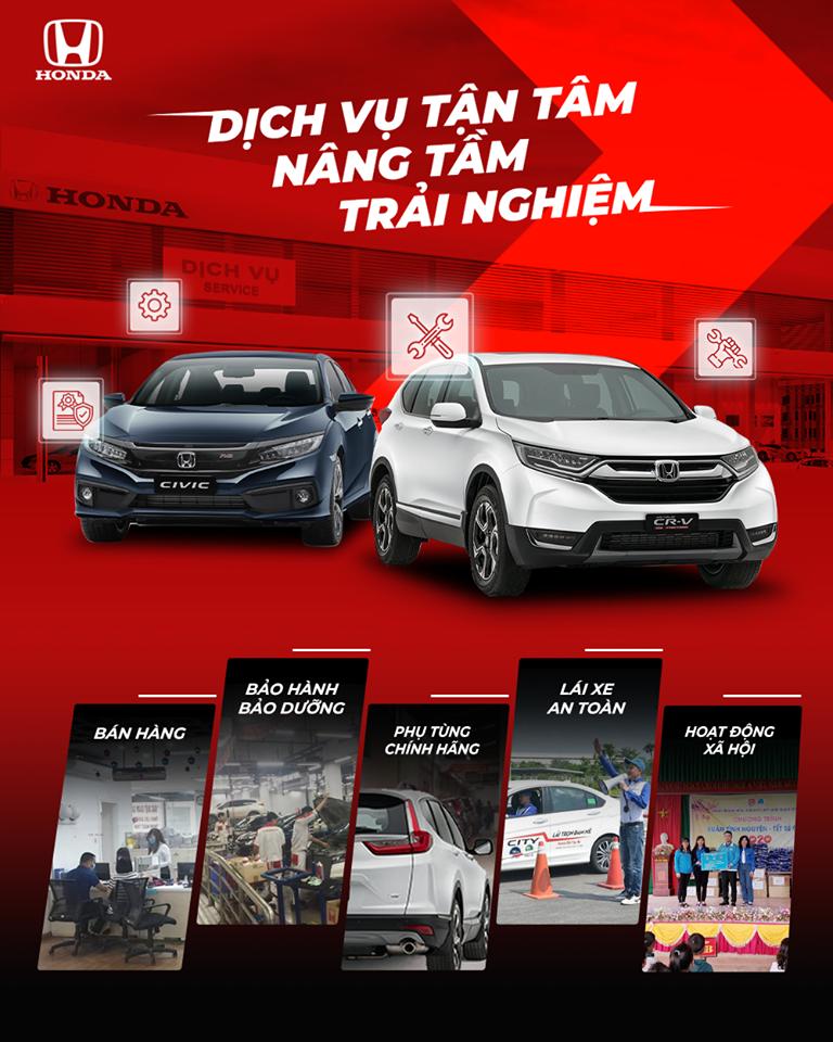 Vì sao khách hàng nên sử dụng dịch vụ tại Honda Ôtô Khánh Hòa – Nha Trang?!