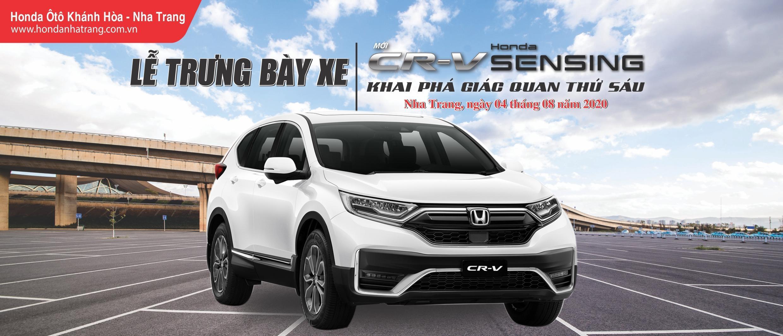 Lễ Trưng Bày Mẫu Xe CRV 2020 – Honda SENSING tại Nha Trang