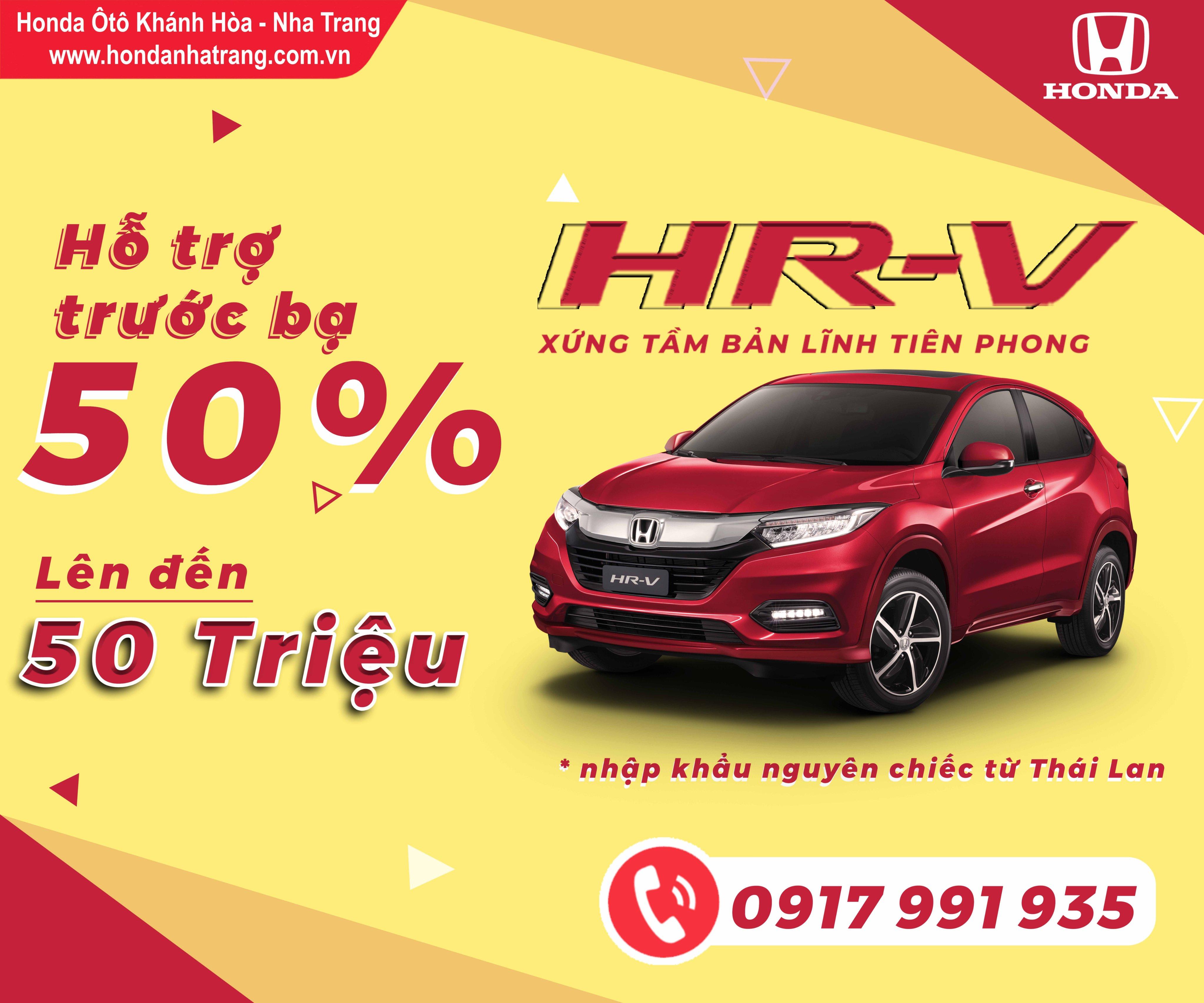 Khuyến mãi chạm mốc mùa Covid 19 tại Honda Ôtô Khánh Hòa – Nha Trang