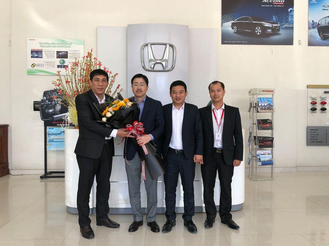 Honda Ôtô Khánh Hòa – Nha Trang đón tiếp Ông Koji Yamamoto đến thăm và làm việc