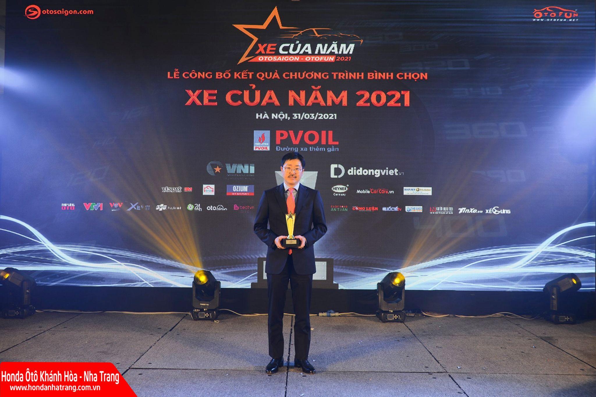 Honda City đoạt giải Mẫu xe hạng B được yêu thích nhất năm 2021