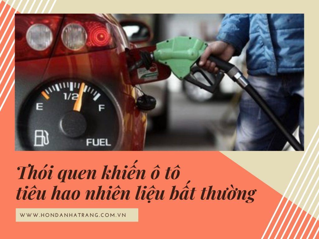 Bỏ ngay 7 thói quen này nếu không muốn ô tô mau hao nhiên liệu