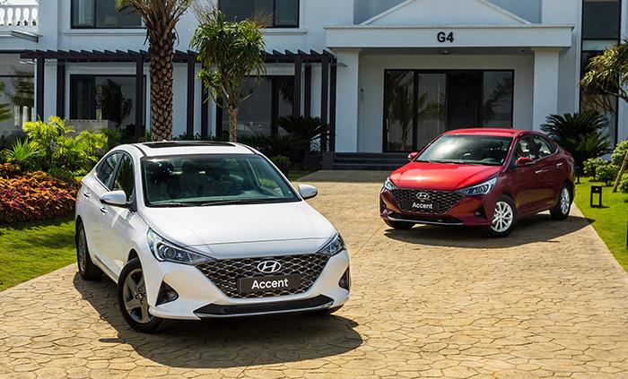 Hyundai Accent tụt 2 bậc trong bảng xếp hạng xe bán chạy tháng 6.