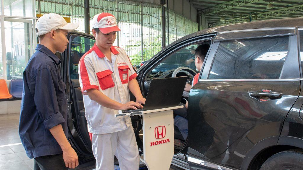 Bảo dưỡng ô tô Honda định kỳ tại Honda Ôtô Khánh Hoà- Nha Trang